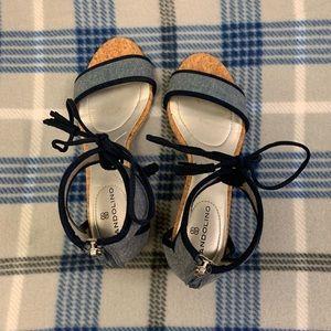 Bandolino Casual Sandal - Women's SZ 5.5M Denim